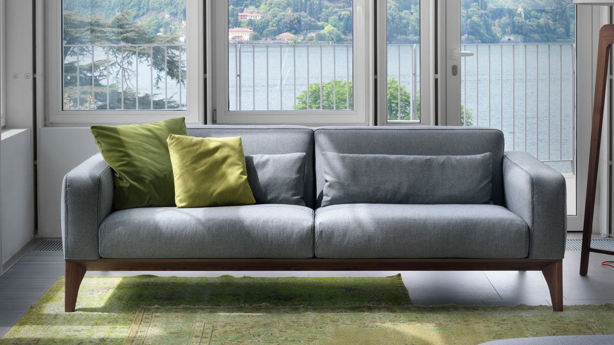 Fellow porada sof piarti muebles de dise o italiano - Sofas italianos diseno ...