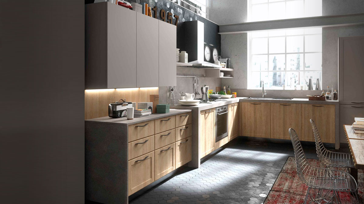 Contempo snaidero cocina piarti muebles de dise o - Cocinas diseno italiano ...